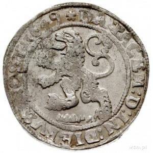 Zwolle, talar lewkowy (Leeuwendaalder) 1649, srebro 27....