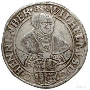 Wilhelm VI 1492-1559, talar (24 grosze) 1558, Schleusin...