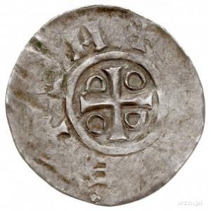 naśladownictwo denara saskiego Ottona i Adelajdy, Aw: K...
