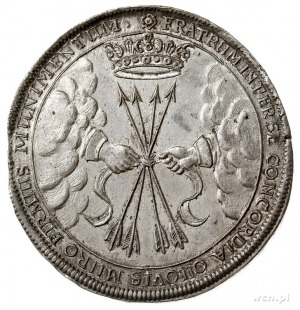 Wilhelm 1640-1662, talar 1662, Weimar, wybity z okazji ...