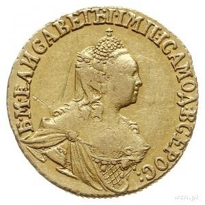 2 ruble 1756, Krasnyj Dvor (Moskwa), złoto 3.20 g, Bitk...