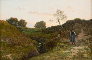 Walery Brochocki, NA ŁĄKACH, 1891