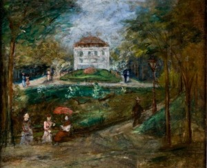 Leon Weissberg, Park Montsouris wParyżu