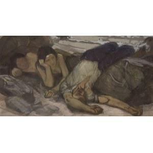 Max Friese (1883 – po 1954), Dwie kobiety z pijakiem