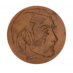 Bencion (Ben) Rabinowicz (1905 – 1989), Medal jubileuszowy (Paryż, 1975)