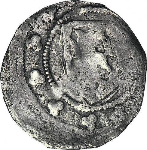 RRR-, Henryk III Głogowski 1274-1316 lub synowie, Kwartnik, Ptak V/tarcza, znane 5 egzemplarzy