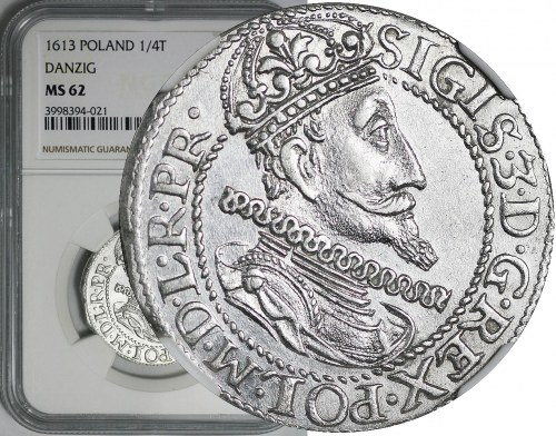 Zygmunt III Waza, Ort 1613, Gdańsk