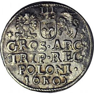 Zygmunt III Waza, Trojak 1601, Kraków, menniczy
