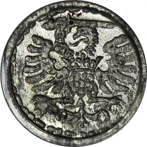 Zygmunt III Waza, Denar 1596, Gdańsk, menniczy