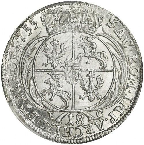 August III Sas, Ort 1755, Lipsk