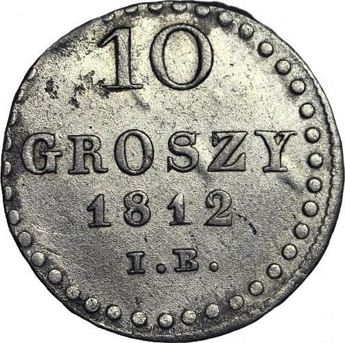 Księstwo Warszawskie, 10 groszy 1812