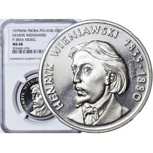 100 złotych 1979, Henryk Wieniawski, PRÓBA, nikiel
