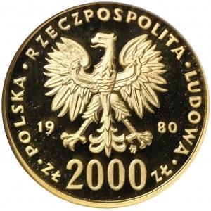 2 000 złotych 1980, Zimowe Igrzyska Olimpijskie