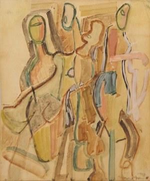Maria Jarema (1908-1958), POSTACIE, 1943 r.
