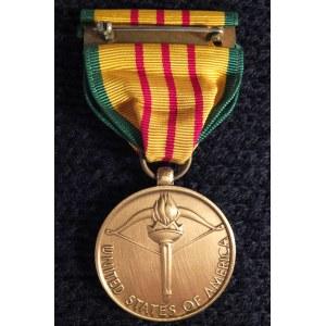 Medal za Służbę w Wietnamie (Vietnam Service Medal). Odznaczenie us ...