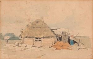 Józef Brandt, PRZED CHATĄ, 1895