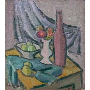 Edward Matuszczak, MARTWA NATURA Z BUTELKĄ, 1930