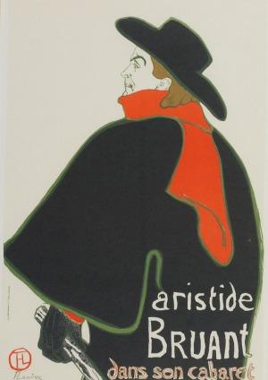 Henri de TOULOUSE-LAUTREC (1864-1901) , Artistide Bruant
