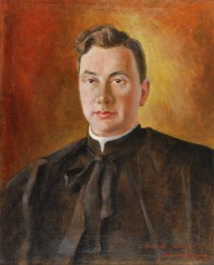Zygmunt NARKIEWICZ (1989-1988), Portret księdza Stanisława Witkowskiego, 1947