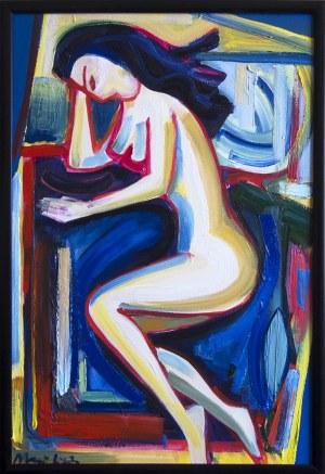 Maciej Cieśla, 1988, Leżąca dziewczyna, 2018