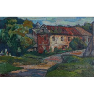 Kazimierz Zieleniewski (1888-1931), Zabudowania nad rzeką