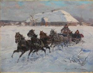 Ignacy Zygmuntowicz(1875-1946/47), Wyjazd na polowanie