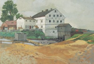 Karol HILLER (1891-1939), Młyn, 1936
