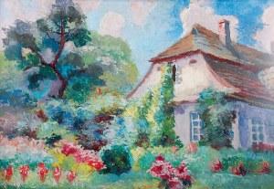Stanisław DĄBROWSKI (1882-1973), Dwór w Glanowie
