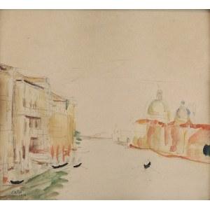 Wojciech WEISS (1875-1950), Wenecja - Canal Grande, 1913
