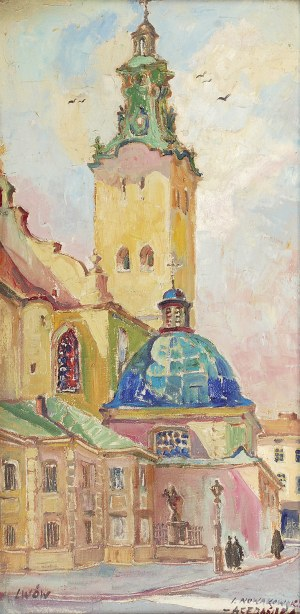 Irena NOWAKOWSKA-ACEDAŃSKA (1906-1983), Lwów, ok. 1970