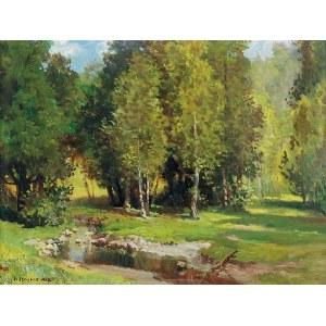 Konstanty MACKIEWICZ (1894-1985), Pejzaż wiosenny