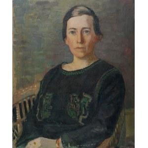 Malarz nieokreślony, XX w., Portret kobiety