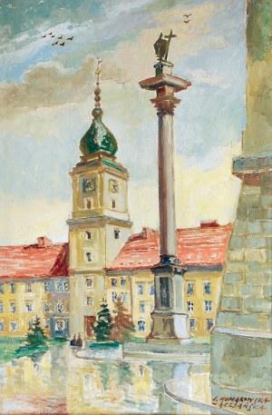 Irena NOWAKOWSKA-ACEDAŃSKA (1906-1983), Warszawa - Zamek Królewski - Wspomnienie, ok. 1970