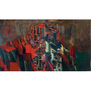 Sławomir KARPOWICZ (1952-2001), Pejzaż Toskański - dyptyk, 1990
