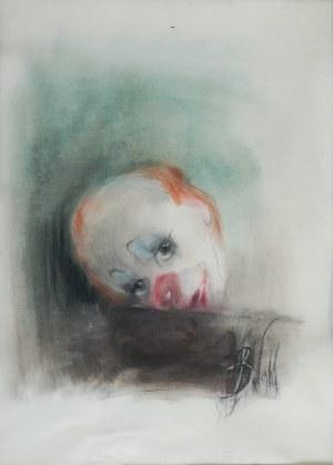 Bożena WAHL (ur. 1932), Clown w zieleni