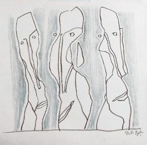 Leszek DUTKA (1921-2014), Trzy postacie, 1997