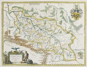 Willem Janszoon Blaeu (1571-1638) Joann Blaeu, Mapa Śląska
