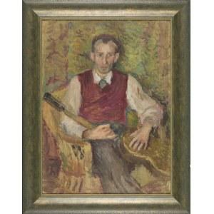 Karol Larisch, Portret profesora Taranczewskiego z gitarą
