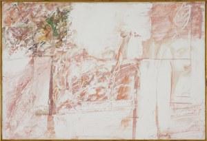 Włodzimierz Kunz, Pejzaż - szkic do obrazu