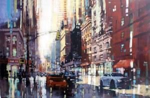 Piotr Zawadzki, City Sounds – NYC Kingdom of the Sun #27, 2018