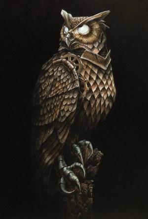 Emil Goś, Eagle Owl, 2018