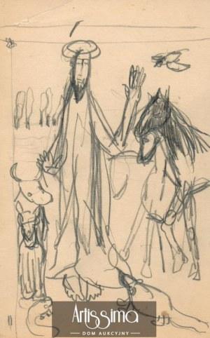 Barbara Jonscher (1926-1986), Św. Franciszek i zwierzęta
