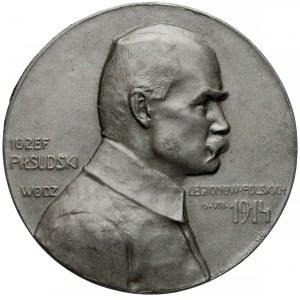 Medal Józef Piłsudski - Wódz Legionów Polskich 1914 (Lewandowski)