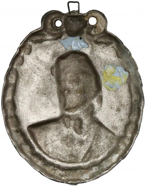 Medalion (13x16cm) Tadeusz Kościuszko 1746-1817
