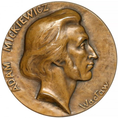 Medal Adam Mickiewicz, Teraz duszą jam w moję ojczyznę wcielony (1898)