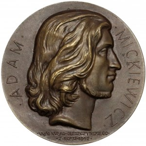 Medal 100-lecie śmierci Adama Mickiewicza 1955