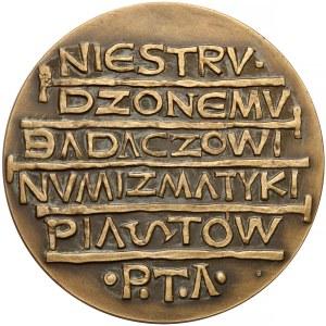 Medal, Zygmunt Zakrzewski / Badacz Numizmatyki Piastów 1968 r.