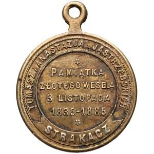 Pamiątka Złotego Wesela Tomasza i Anastazji Jastrzębskich 1835-1885