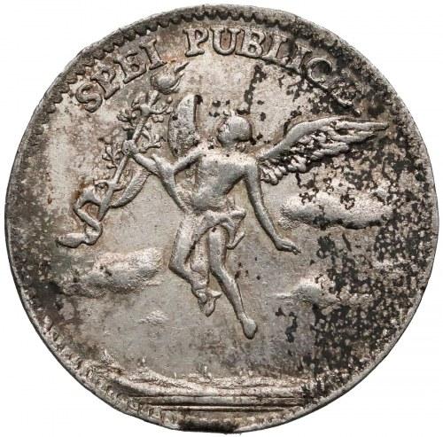 August III Sas, Dwugrosz (1/12 talara) 1747 - zaślubinowe