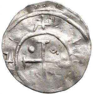 Mieszko II, Denar (1013-1025) - MISICO - rzadkość